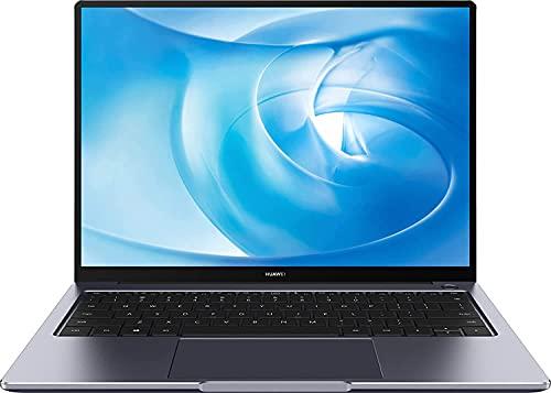 HUAWEI MateBook 14 Laptop, 14 Zoll 2K-FullView Notebook, Windows 10 Home, Intel Core i5-10210U, 8 GB RAM, 512 GB SSD, leichtes Metallgehäuse, Fingerabdrucksensor, QWERTZ-Layout, Grau