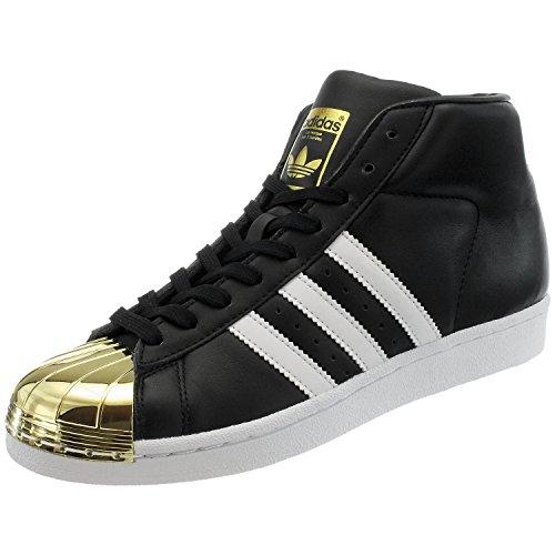 adidas - Promodel Metal Toe W - BB2130 - Colore: Oro-Bianco-Nero - Taglia: 40.0