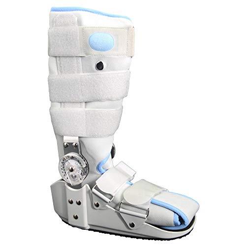 SMGPYDZYP Zapatos Walker, Zapatos Ajustables de Caminante de Airbag, Botas fijas de Tendón de Aquiles con torsión con Tobillera espranada