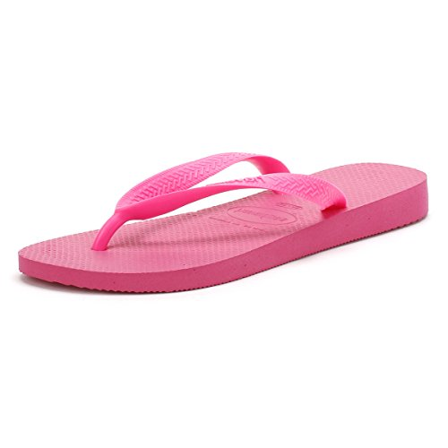 Havaianas Unisex Top Flip Flops, Shocking Pink, 8.5 UK (43/44 EU) (41/42 BR)