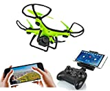 SUPER TOY RC WiFi HD Camera Drone with Auto Return and 360 Flip Action