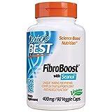 Doctor's Best Fibroboost with Seanol, Non-GMO, Vegan, Gluten Free, Soy Free, 400 mg, 90 Veggie Caps
