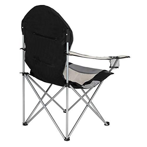 Gwendolyn Silla de camping portátil ligera y compacta plegable para mochilero, campamento, parque, picnic, festival, al aire libre, playa