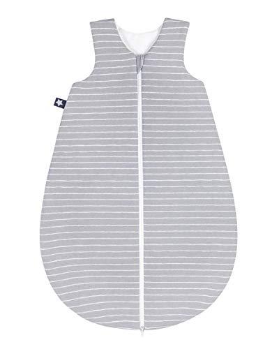 Julius Zöllner Jersey Schlafsack Gr. 74 Grey Stripes