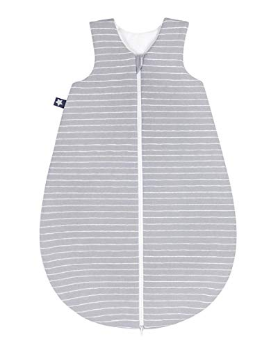 Julius Zöllner Jersey slaapzak maat 62 Grey Stripes