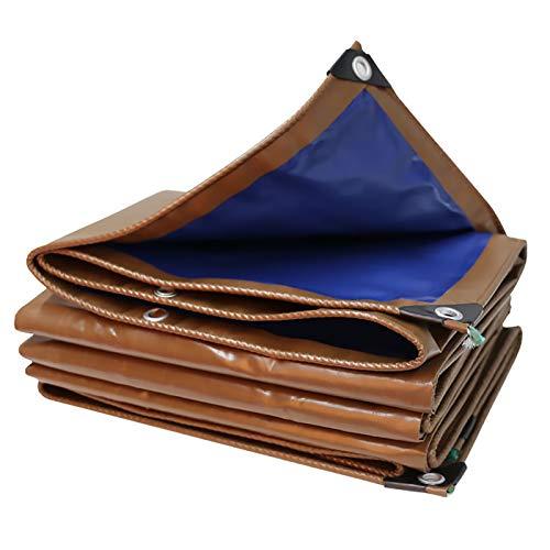 Pesado Lona Resistente al Agua Incombustible Resistencia al Frio Premium Lona de Protección Cubierta con Ojales para Exterior Muebles de Jardín Vehículos Barcos Coche, Personalizar ( Size : 1.8x1.8m )