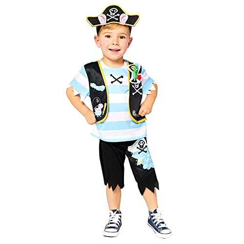 Amscan 9910166 Child Boys Official Peppa Pig Licensed Pirate George Fancy...