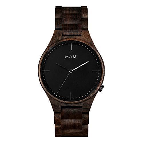 Mam relojes Volcano Damen Uhr analog Japanisches Quarzwerk mit Armband 610