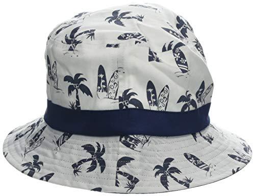 maximo Jungen Hut, Palmen Mütze, Mehrfarbig (Weiß/Navy 148), 51