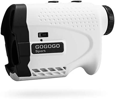 Gogogo Sport Vpro Laser Rangefinder for Golf & Hunting Range Finder Gift Distance Measuring with High-Precision Flag Pole Locking Vibration Function︱Slope Mode Continuous Scan