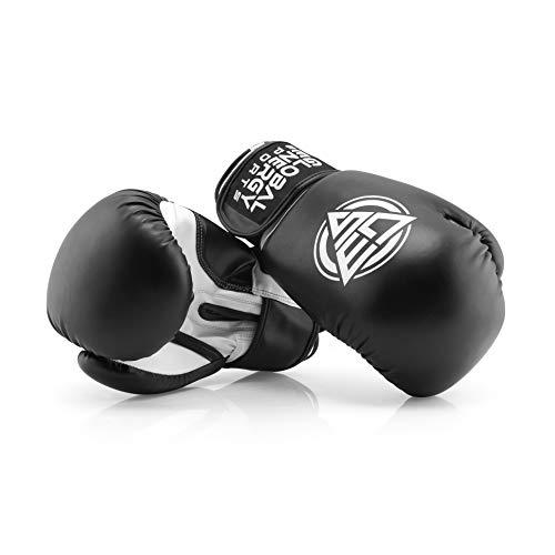 Global Energy Sports Boxhandschuhe - für Männer und Frauen mit praktischem Tragebeutel für das Training Kampfhandschuhe I Boxing Gloves (8oz (Unzen))