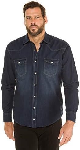 JP 1880 Denimhemd Camisa para Hombre