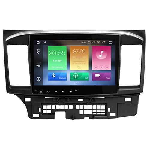 WHL.HH para Mitsubishi Lancero 2008-2015 Androide 8.0 Octa Centro 4 GB RAM 32 GB ROM 10,1' Auto Radio Estéreo GPS Sistema Auto Multimedia Jugador