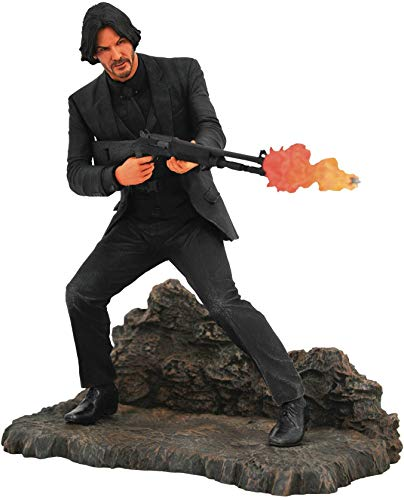 Diamond Select Toys: John Wick Gallery - Catacombs PVC Diorama (SEP192489), Standard, Figure