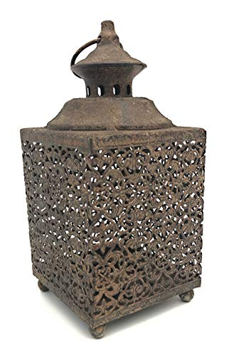 Moorse vierkante lantaarn door London Ornaments