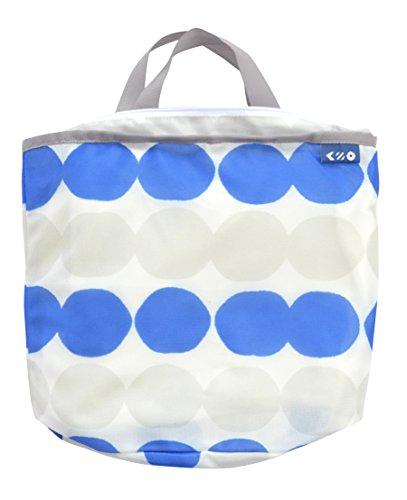 シービージャパン 洗濯 ネット ブルー 柄付き Sサイズ ランドリートート バック型 Kogure