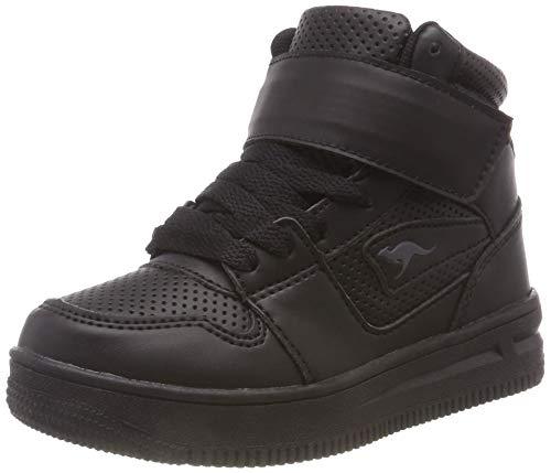 KangaROOS Unisex-Kinder Future-Space Hi Hohe Sneaker, Schwarz (Jet Black 5001), 37 EU