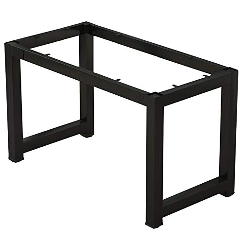 HXBH Patas de muebles de hierro forjado - Mesa de comedor Patas del escritorio Mesa de conferencias Pata de banco de trabajo Banco de soporte Soporte para mesa de entrenamiento de pies Soporte - Sin