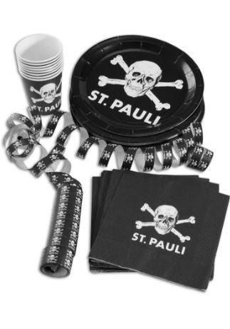 FC ST.Pauli Partyset Totenkopf