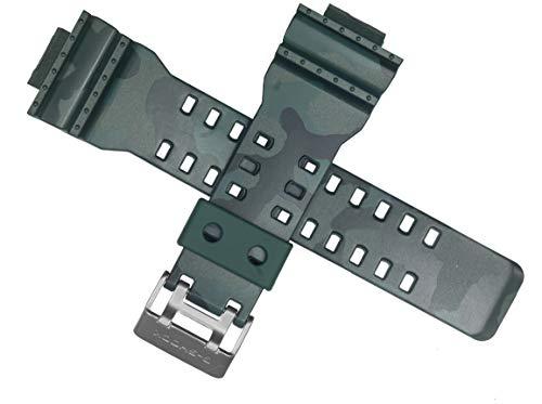 Cinturino per orologio Casio GA-110CM-3A GA 110 100 verde Army 10495867