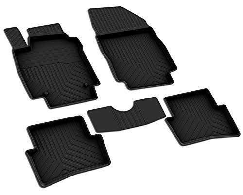 mächtig der welt Renault Captur (1. Generation) Modelljahr 2013-2019 Original-Fußmatten aus Gummi.