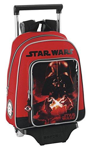 Star Wars – Sac à Dos Enfant avec roulettes, 28 x 34 x 10 cm (SAFTA 611401020)
