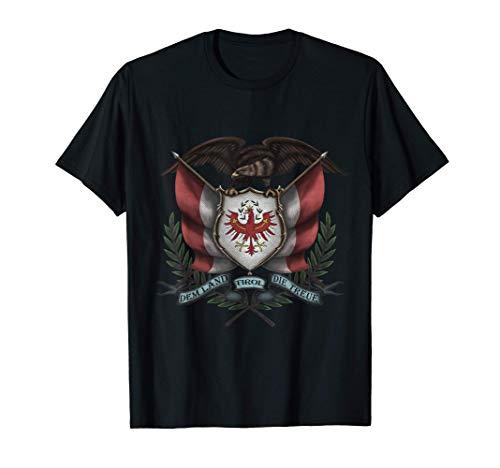 Dem Land Tirol Die Treue Fahne Mit Adler Design für Tiroler T-Shirt