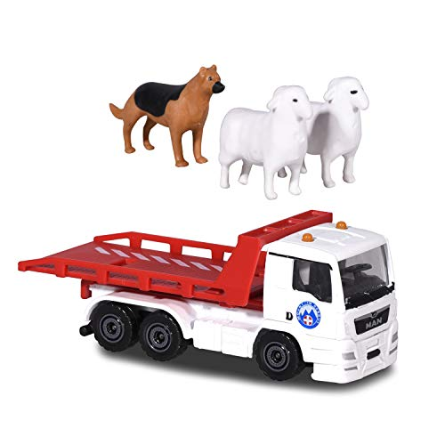 Majorette 212058593 Playset Diorama-Die-Cast Vehicles-3 Cars + Accessories-Gift Set-Mountain Rescue, Multicoloured