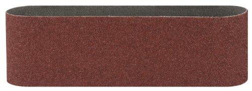 Bosch Schleifband (für Bandschleifer verschiedene Materialien, 3 Stück, 75 x 533 mm, Körnung 150)