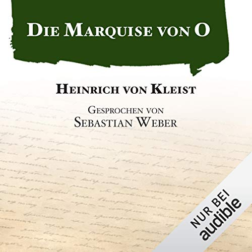 Die Marquise von O audiobook cover art