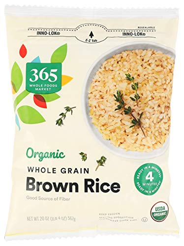 365 by Whole Foods Market, Rice Brown Whole Grain Organic, 20 Ounce