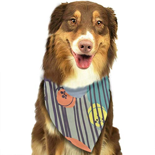 Arte Abstracto Dibujo Perro pañuelo Collares triángulo pañuelo Baberos Bufandas Accesorios Mascotas Gatos y Cachorros bebé Toalla de Saliva