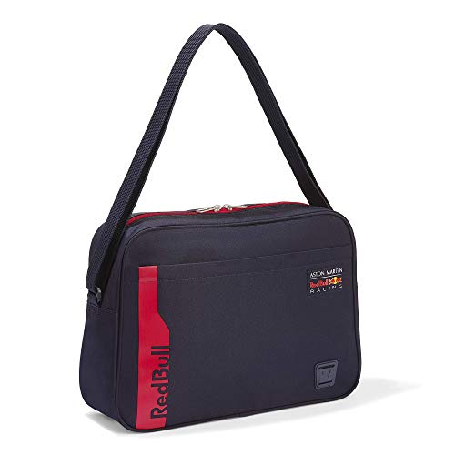 Red Bull Racing Official Teamline Shoulder Tasche, Unisex One Size - Original Merchandise