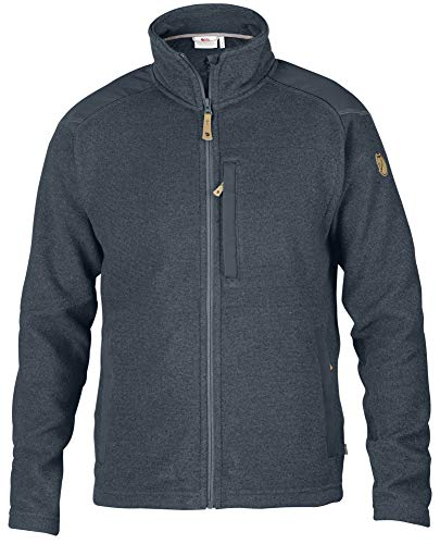 Fjallraven Herren Buck Fleece M Sweatshirt, Graphite, XS