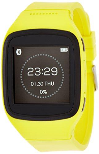 MyKronoz ZeSplash Smartwatch für Android/Apple iPhone gelb