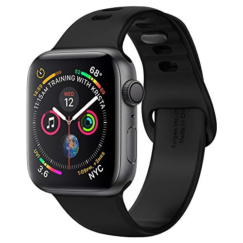 Spigen Air Fit Compatibile con Cinturino Apple Watch per 44mm / 42mm Serie 5 / Serie 4 / Serie 3/2/1 - Nero