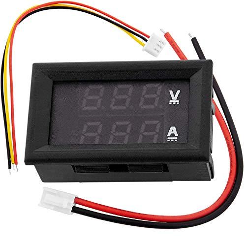 AZDelivery ⭐⭐⭐⭐⭐ voltimetro amperimetro modulo DSN-VC288 con Pantalla LED para Arduino y Raspberry Pi