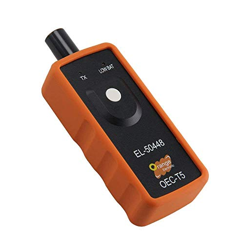Outil dactivation automatique OEC-T5 de capteur de moniteur de pression des pneus EL-50448 pour loutil de r/éinitialisation TPMS des pneus de v/éhicule GM//Opel couleur: orange et noir