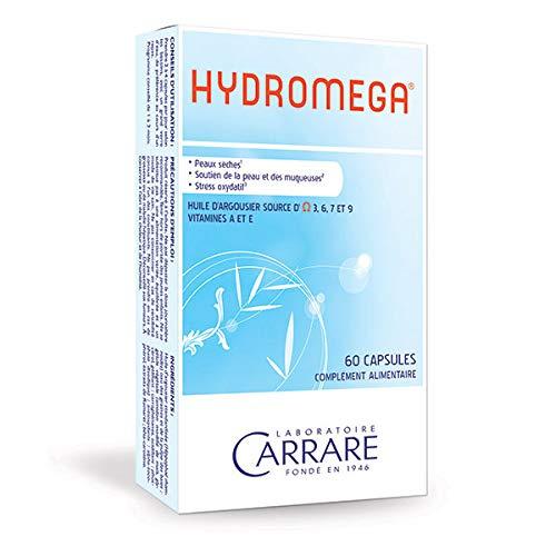 Laboratoire CARRARE - Hydroméga 60 capsules - Prix De L'Unité - Livraison Rapide En France Métropolitaine