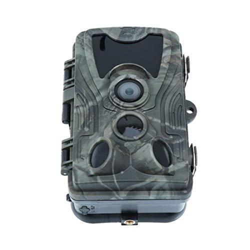 joyliveCY 20 MP Wildkamera 1080P Jagdkamera wasserdichte Überwachungskamera 120°Weitwinkel Beutekameras 42 pcs 940 nm IR-LEDs 20m Nachtsicht