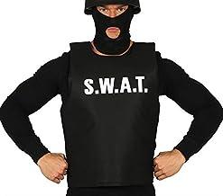FIESTAS GUIRCA Chaleco swat policia Hombre