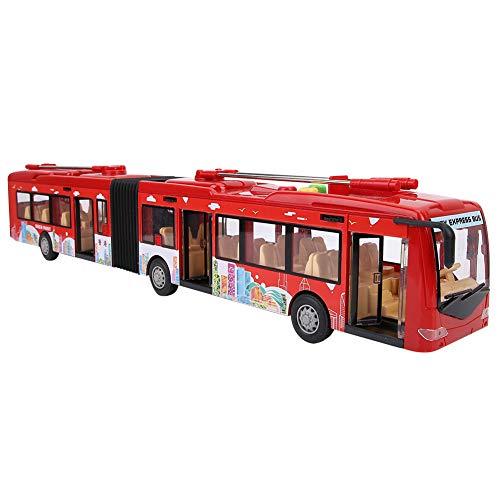 Fockety Autobús de Juguete para niños, autobús de Juguete electrónico, luz Fresca, Forma Fresca, Forma Original, Cuerpo aerodinámico, Potencia Fuerte para niños, niños