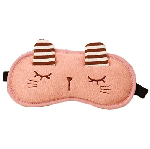BIGBOBA ntifaz de dormir para mujer o niños, ajustable, con diseño de conejo, para refrigeraci&oacute