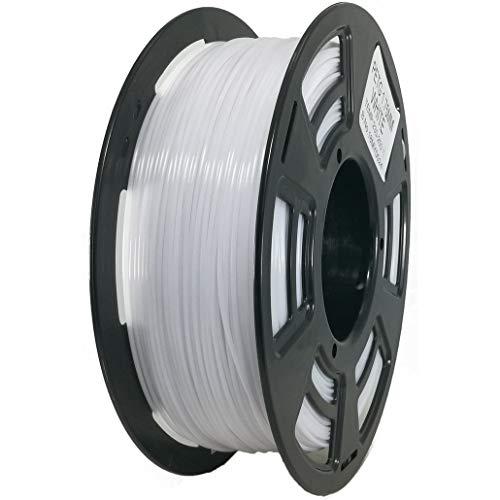 Stronghero3D - Filamento para impresora 3D (PETG, 1,75 mm, 1 kg), color blanco