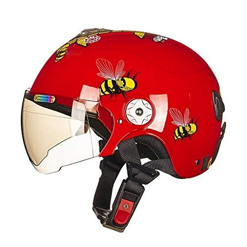 WXAD sport outdoor helm voor kinderen motorhelm vier seizoenen middelste cartoon-helm universeel