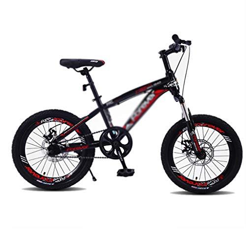 Kinderfahrräder 18 Zoll Fahrräder 8-10-12 Jährige Schülerfahrräder Mountainbike for Jungen Und Mädchen (Color : Red, Size : 18 inches)