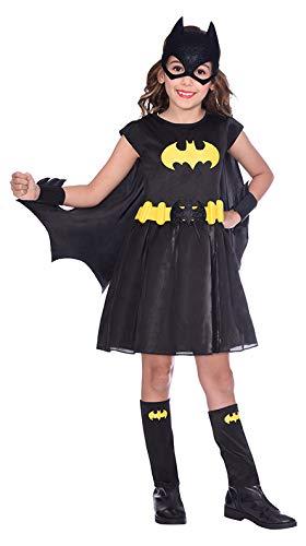 Niño Niña Batgirl Warner Bros Disfraz Clásico (Edad: 3-4 años)
