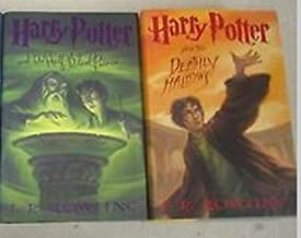 Harry Potter Books,7 & 8 Half-Blood Prince & The Deathly Hallows (hard Cover, 1st Edition)