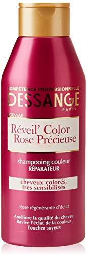 DESSANGE Réveil Color Rose Précieuse Shampooing Couleur Réparateur 250 ml