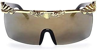 TYJYY Sunglasses Nouveau Arrivé Femmes Lunettes De Soleil Marque Designer Hommes Lunettes De Soleil Oversize Lunettes De S...